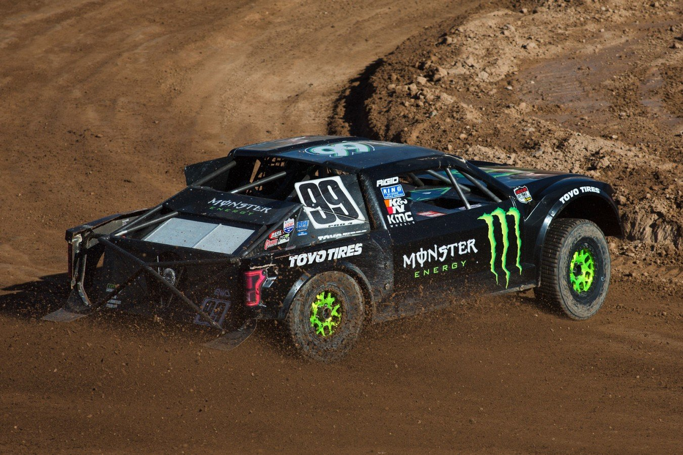 Kyle Leduc wins the Lucas Oil Off Road Racing Series in Chandler, AZ
