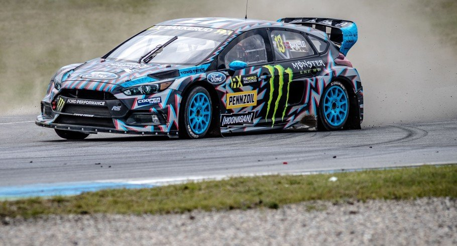 Saturday images from the 2017 World RX of Germany - at the Hockenheimring