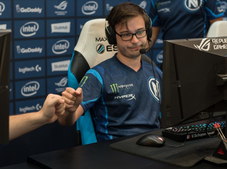 Photos of Team EnVyUs at ESL ONE New York at the Barclays Center in Brooklyn, NY