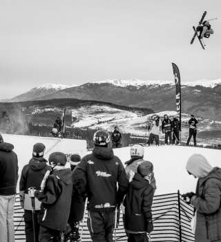 Henrik Harlaut took first place in the men's ski slopestyle finals with a progressive and perfectly executed run that earned him a score of 95.